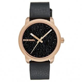 Diesel DZ5520 Uhr Damenuhr Lederarmband Schwarz