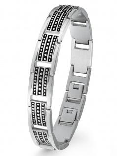 s.Oliver 2022639 Herren Armband Edelstahl Silber 21, 5 cm