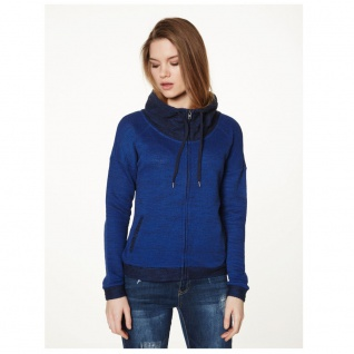 Vero Moda Sweatjacke 10128341 JANE L/S Highneck Zip Sweat Blau Gr. XS - Vorschau 3