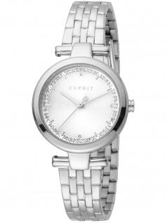 Esprit ES1L203M0065 Cherry Silver Uhr Damenuh Datum silber