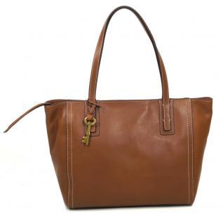 Fossil EMMA TOTE Braun ZB6844-200 Leder Handtasche Tasche Shopper