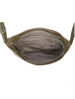 Esprit Damen Handtasche Schultertasche Florence Shoulderbag Grau - Vorschau 2