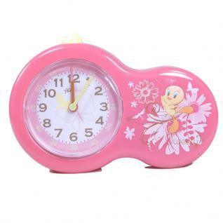 Flik Flak FAC30 Kinderwecker TWEETY Uhr Mädchen Kinderuhr Rosa