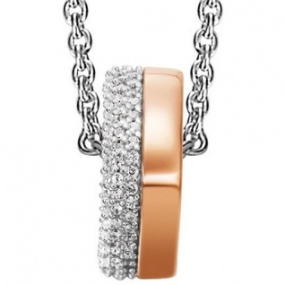 Joop JPNL90605B450 Damen Collier Jane Sterling-Silber 925 Weiß 48 cm