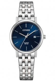 Citizen EU6090-54L Uhr Damenuhr Edelstahl Datum silber