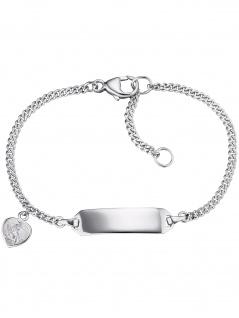 Herzengel HEB-ID-ANGELI-HEART Mädchen Armband Silber 14 cm