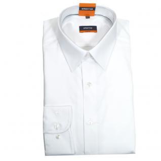 Eterna Herrenhemd Langarm 4678/00/F198 Slim Fit Weiß Gr. M/40