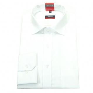 Eterna Herrenhemd 1100/00/X177 Modern Fit Weiß Gr. M/39