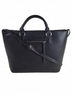 Esprit Damen Handtasche Tasche Henkeltasche Kerry Shopper Schwarz