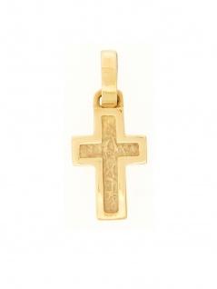 Gerry Eder 27.0015 Anhänger Kreuz 14 Karat (585) Gelbgold Gold