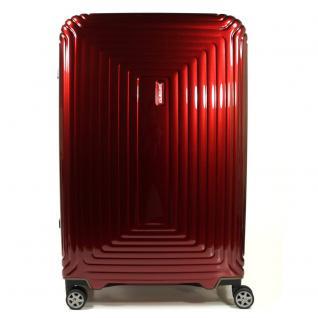 Samsonite 65756-1544 Neopulse Spinner 81cm Metallic Rot Trolley 124 L