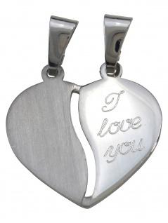 Gerry Eder 29.1094S Damen Anhänger Herz Sterling-Silber 925 Silber