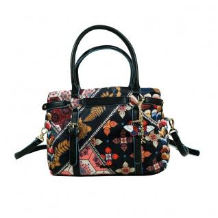 Desigual Bols San Marino Retro Fresh Schwarz Handtasche Tasche