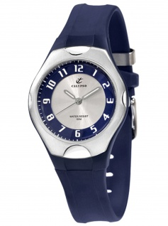 Calypso K5162/4 Uhr Herrenuhr Kautschuk blau