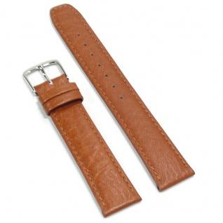 Condor Uhrenband 11820-18-80 Ersatzarmband 18 mm Kamelnarbung braun