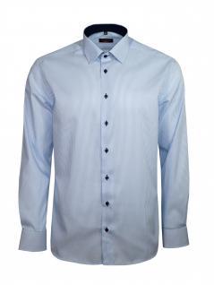Eterna Herren Hemd Langarm Modern Fit Hemden 8992/12/X14P Blau L/42