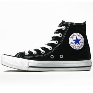 Converse Herren Schuhe All Star Hi Schwarz M9160C Sneakers Gr. 42, 5