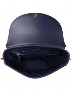 Tommy Hilfiger Damen Handtasche Tasche Tommy Staple Saddle Blau - Vorschau 2