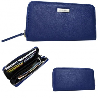 Pieces Geldbörse NINA Purse Blau 17067023 Damen Geldbeutel Geldtasche