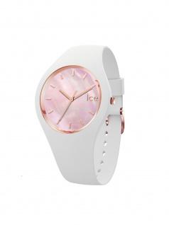 Ice-Watch 016939 ICE pearl white pink small Uhr Damenuhr Weiß