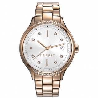 Esprit ES108562003 esprit-tp10856 rosé gold Uhr Damenuhr Datum rosé