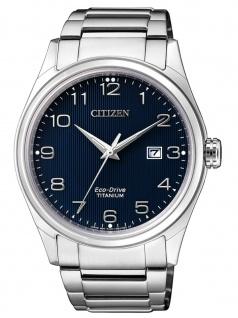 Citizen BM7360-82M Hau Titan Uhr Herrenuhr Titan Datum Grau