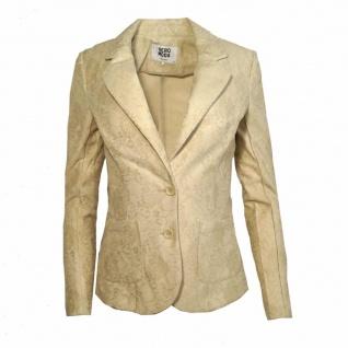 Vero Moda Damen Blazer Jacke BENNO Lace LS Blazer Beige Gr. 34