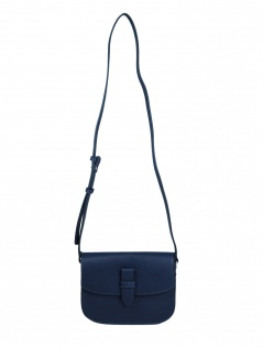 Esprit Damen Handtasche Tasche Schultertasche Delia shoulderbag Blau