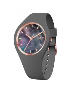 Ice-Watch 016938 ICE pearl grey small Uhr Damenuhr Kautschuk Grau