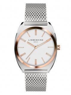 LIEBESKIND LT-0070-MQ Uhr Damenuhr Edelstahl Silber