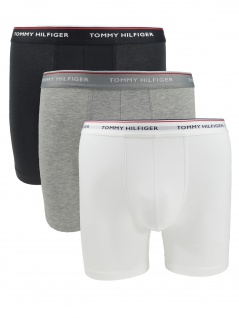 Tommy Hilfiger Herren Unterhose 3er Pack Boxer Brief XXL Mehrfarbig