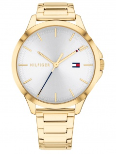 Tommy Hilfiger 1782086 PEYT Uhr Damenuhr Edelstahl Gold