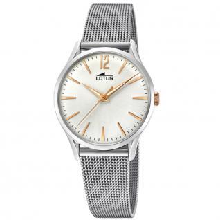 LOTUS 18408-1 REVIVAL Uhr Damenuhr Edelstahl silber