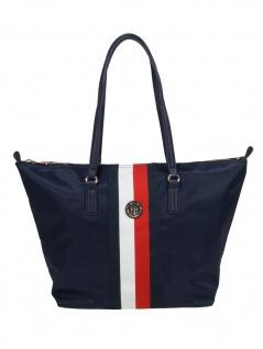 Tommy Hilfiger Damen Tasche Shopper Poppy Tote Blau AW0AW07390-0G7