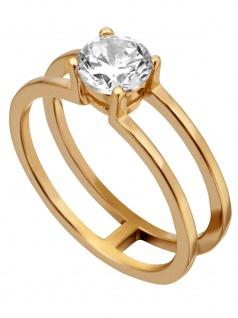 Esprit ESRG00101318 Damen Ring LillianRose Weiß 57 (18.1)