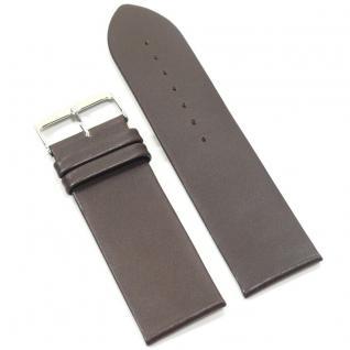 Condor Uhrenband 10202-26-20 Ersatzarmband 26 mm Kalbnappa braun