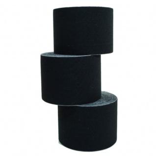 3 Rollen Kinesiologie-Tape 5 m x 5, 0 cm schwarz (EUR 0, 833 / m)