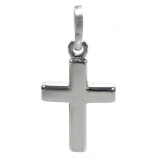 Basic Silber SKE47 Kinder Anhänger Kreuz Silber