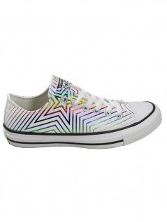Converse Damen Schuhe CT All Star Ox Weiß Leinen Sneakers 37 EU