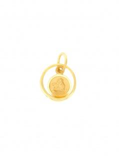 Gerry Eder 22.0085 Anhänger Schutzengel 14 Karat (585) Gelbgold Gold