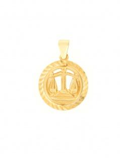 Gerry Eder 24.9021WA Anhänger Waage 14 Karat (585) Gelbgold Gold