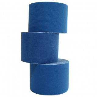 6 Rollen Kinesiologie Tape 5 m x 5, 0 cm dunkelblau (EUR 0, 632 / m)