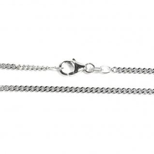 Basic Silber PF02.50.36R Kette Baby Panzer Halskette Silber 36 cm