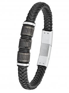 s.Oliver 2024230 Herren Armband Edelstahl Silber 22 cm