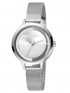 Esprit ES1L088M0015 Lucid Uhr Damenuhr Edelstahl Silber