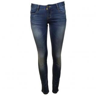 M.O.D Damen Jeans Hose Alice Skinny Santee blue Blau Gr. 26W / 32L