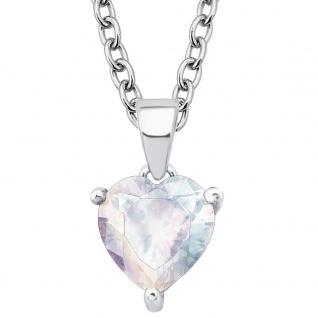Prinzessin Lillifee 2017935 Mädchen Collier Herz Silber Weiß