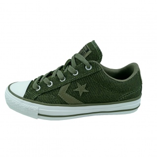 Converse Damen Schuhe Star Player Ox Grün Gr. 41 Sneakers 157764C