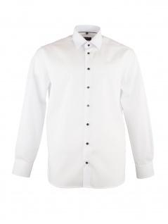 Eterna Herren Hemd Langarm Modern Fit XL/43 Weiß 1303/00/X18P