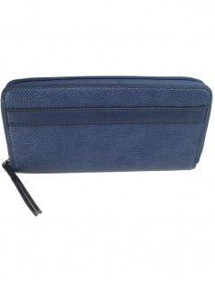 Esprit Damen Geldbörse Portemonnaies Ruby Zip Blau 059EA1V001-400